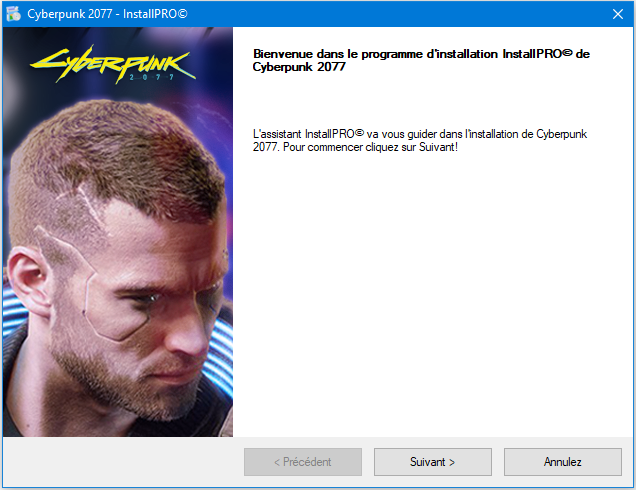 Cyberpunk 2077 Install
