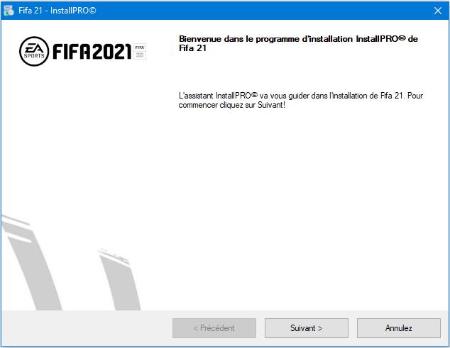 Fifa 21 Install