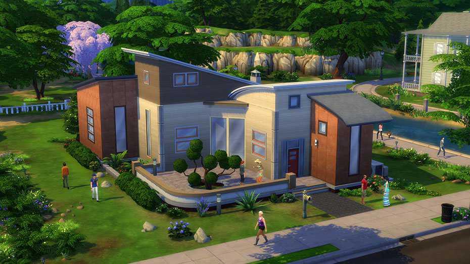 Les Sims 4 Revue